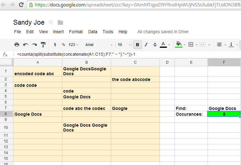 how to find word count google docs