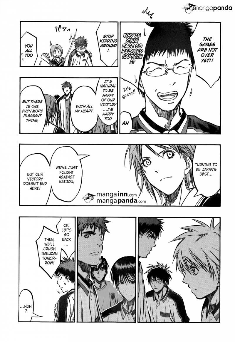 Kuroko no Basket Manga Chapter 203 - Image 15