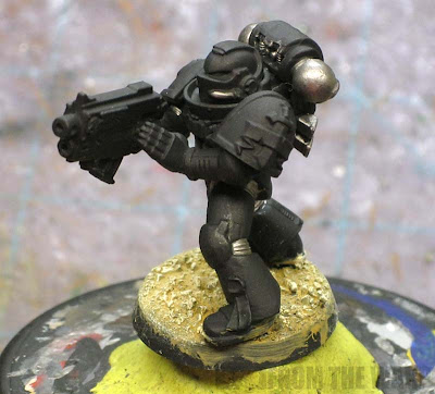 painting your model base first