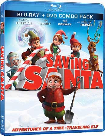 Filme Poster Saving Santa BRRip XviD & RMVB Legendado