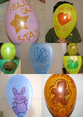 Draw pictures on Balloon