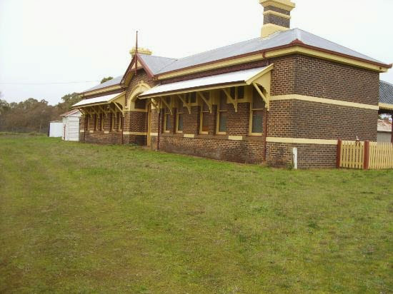Casterton Railway Station, Federation Style