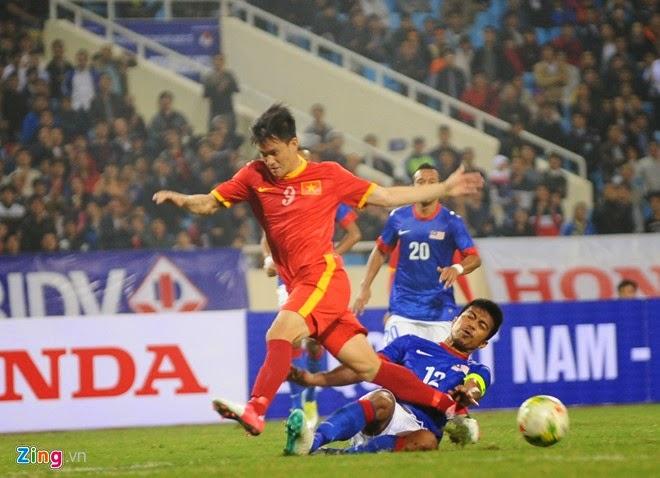 Công Vinh vô duyên trong chiến thắng của tuyển Việt Nam