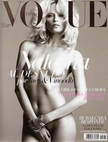 Fash Models Natasha Poly Desnuda En La Portada De Vogue España