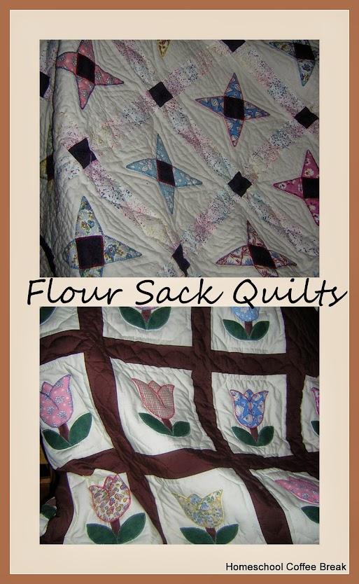 Flour Sack Quilts @ kympossibleblog.blogspot.com