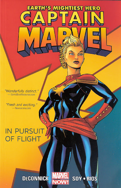 Captain Marvel, v. 1: In Pursuit of Flight cover