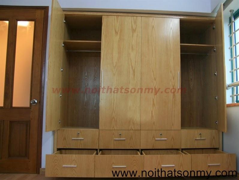 Tủ quần áo gỗ 24