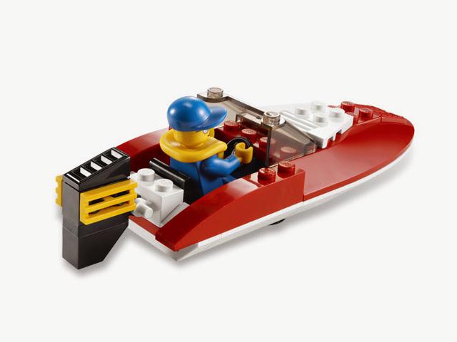 4641 レゴ シティ スピードボート