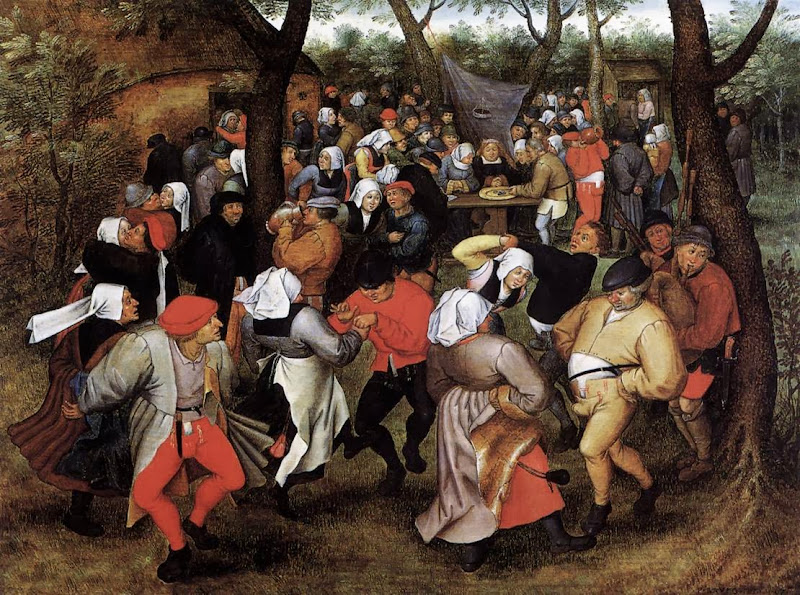 Pieter Brueghel the Younger - Peasant Wedding Dance (Brussel)