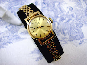 Rolex Tudor Gold Ladies Watch 9ct Bracelet Vintage