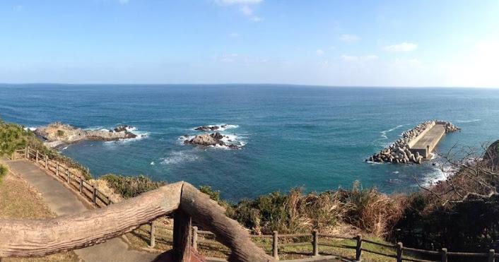 少弐公園の展望台からの眺め Photo by カズナ