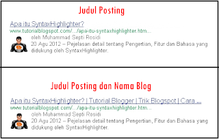 judul posting,title post,judul post,nama blog,judul blog,title post seo friendly,post,search engine result