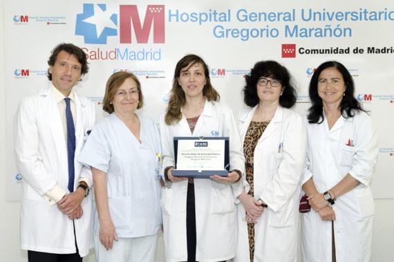 La Unidad de Esquizofrenia del Hospital Gregorio Marañón recibe el premio 'Best in Class'