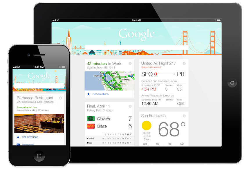 Google Now – 自助旅行的好幫手,機票飯店行程自動幫你整理好!