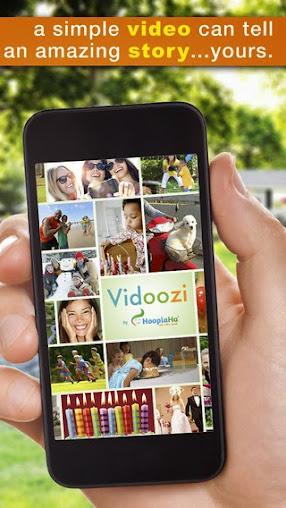 Create custom videos - share a story, send a greeting - with the Vidoozi app for iPhone