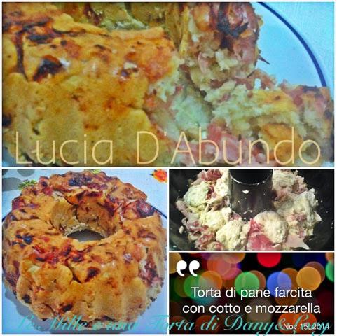 torta di pane con coppa, cotto e mozzarella e torta ripiena con peperoni e provola