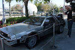 1.21gigaw....wait, didn't I already do this picture in LA?  How many of these Delorans do they have?!