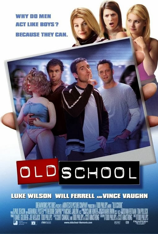 Poster Of Old School (2003) Full Movie Hindi Dubbed Free Download Watch Online At Alldownloads4u.Com