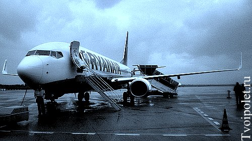 Ryanair фото самолета