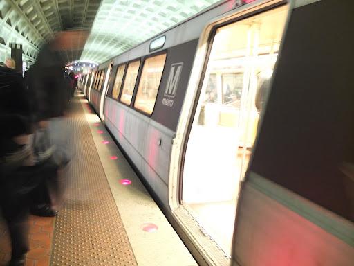 ワシントンの地下鉄の車両