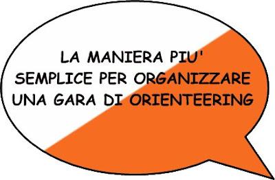 La maniara più semplice per organizzare una gara di orienteering