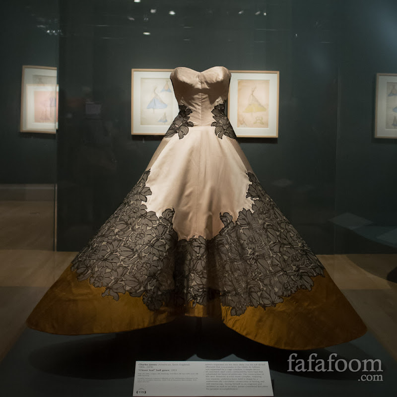 "Charles James, ""Clover Leaf"" ball gown, 1953"