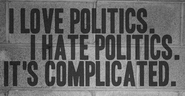 hate+politics 他們討厭的政治,究竟是甚麼?