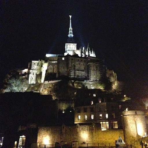 Mont St Michel at night. From 100 Places in France Every Woman Should Go