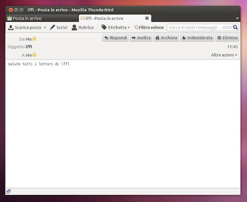 Mozilla Thunderbird 11.0