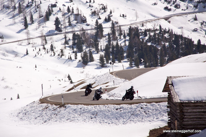 Alle Pässe in Südtirol, Trentino und Dolomiten sind jetzt offen