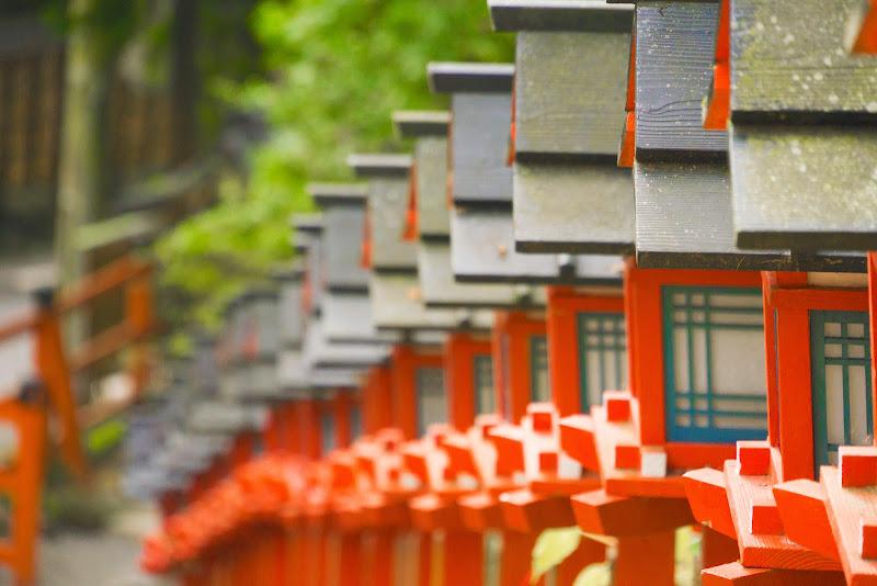 京都 貴船神社 紅葉 写真7