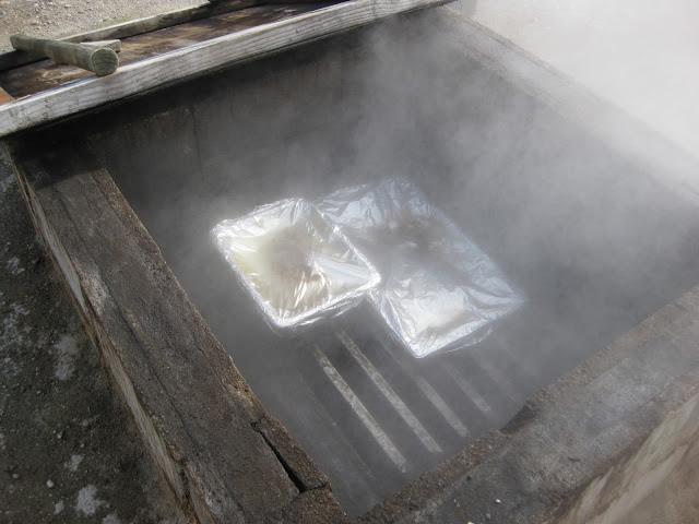 Earth oven, Whakarewarewa village