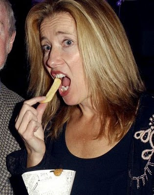 emma thompson eating
