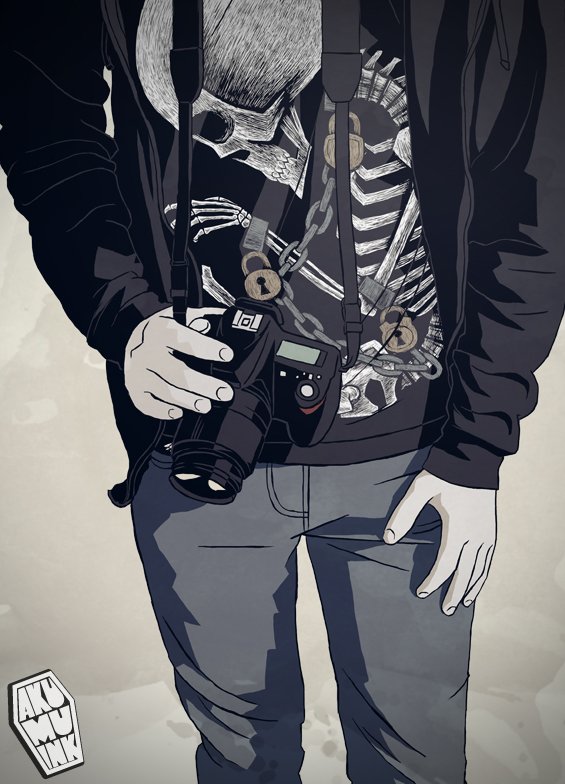 akumu ink art, self portrait emo, self art emo, tshirt artist, scene art, emo self, indie art, skull tshirt, skull art, goth photographer, goth artist, goth art, skull artist, akumu art