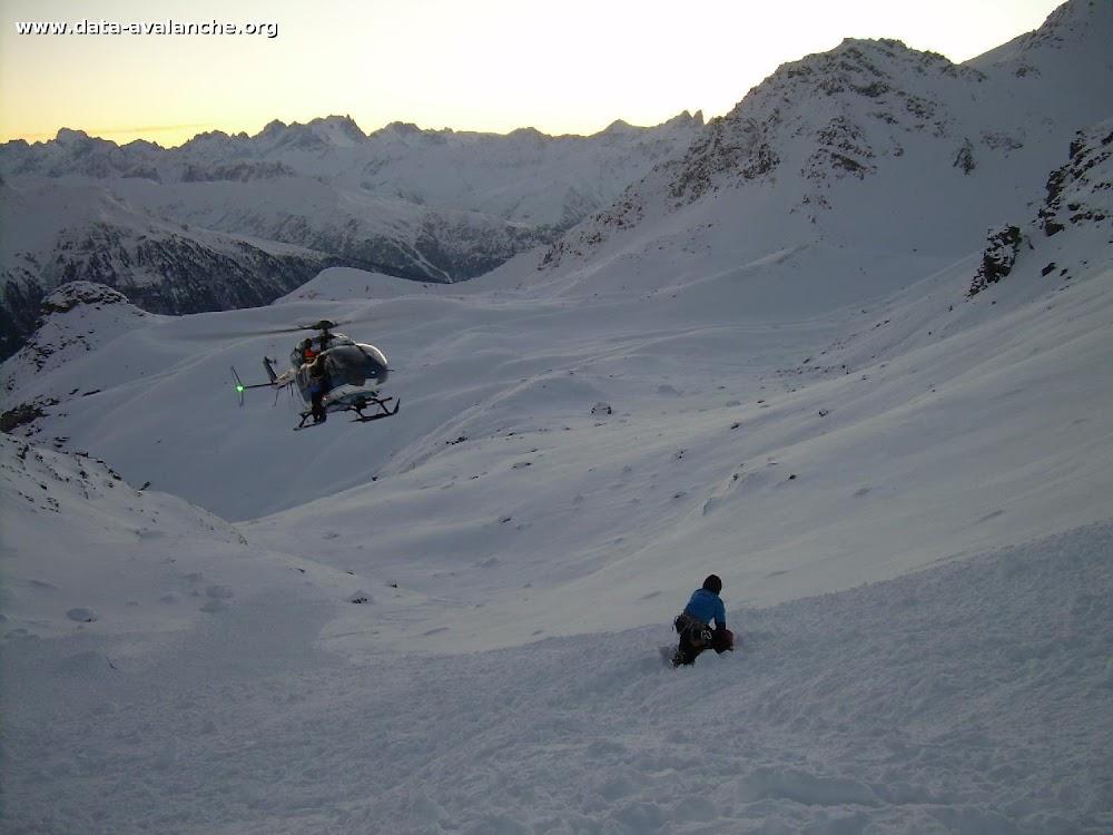 Avalanche Vanoise, secteur Cime de Caron, Versant Maurienne - Départ depuis la Cime de Caron - Photo 1