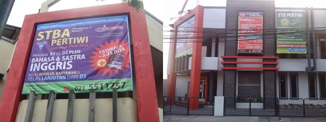 Sekolah tingi Bahasa Asing Pertiwi Tangerang