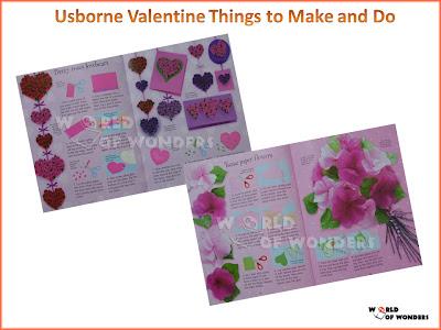 World of wonders usborne valentine things to make and do for Things to make for valentine s day