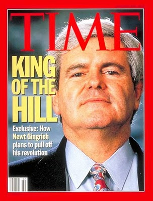 newt gingrich man of the year time. The Newt Gingrich , is a