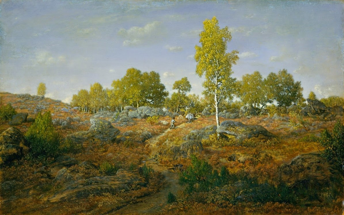 Théodore Rousseau - A Path Among the Rocks