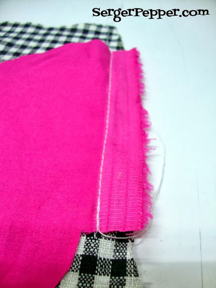 Serger Pepper Add an In-Side-Seam the easy way to any existing pattern - sew