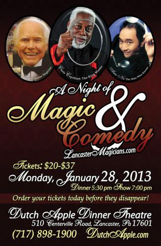 A Night Of Magic And Comedy 2013