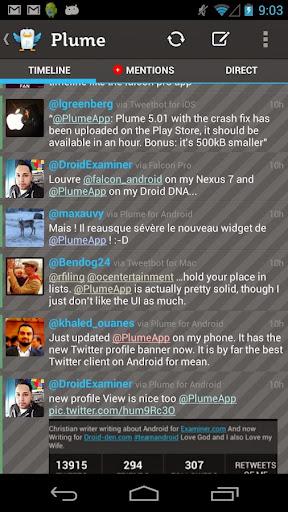 Plume Premium for Twitter v6.00