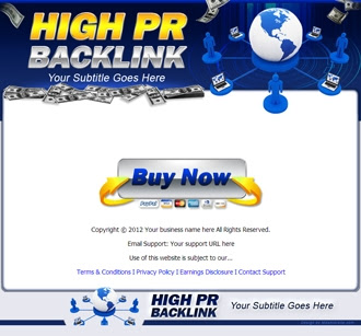 Sales Page | High PR Backlink