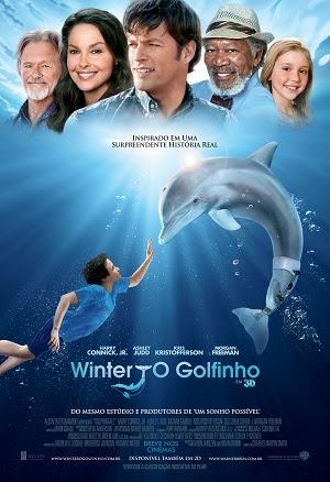 Capa do Filme Winter, O Golfinho   Dublado   TS