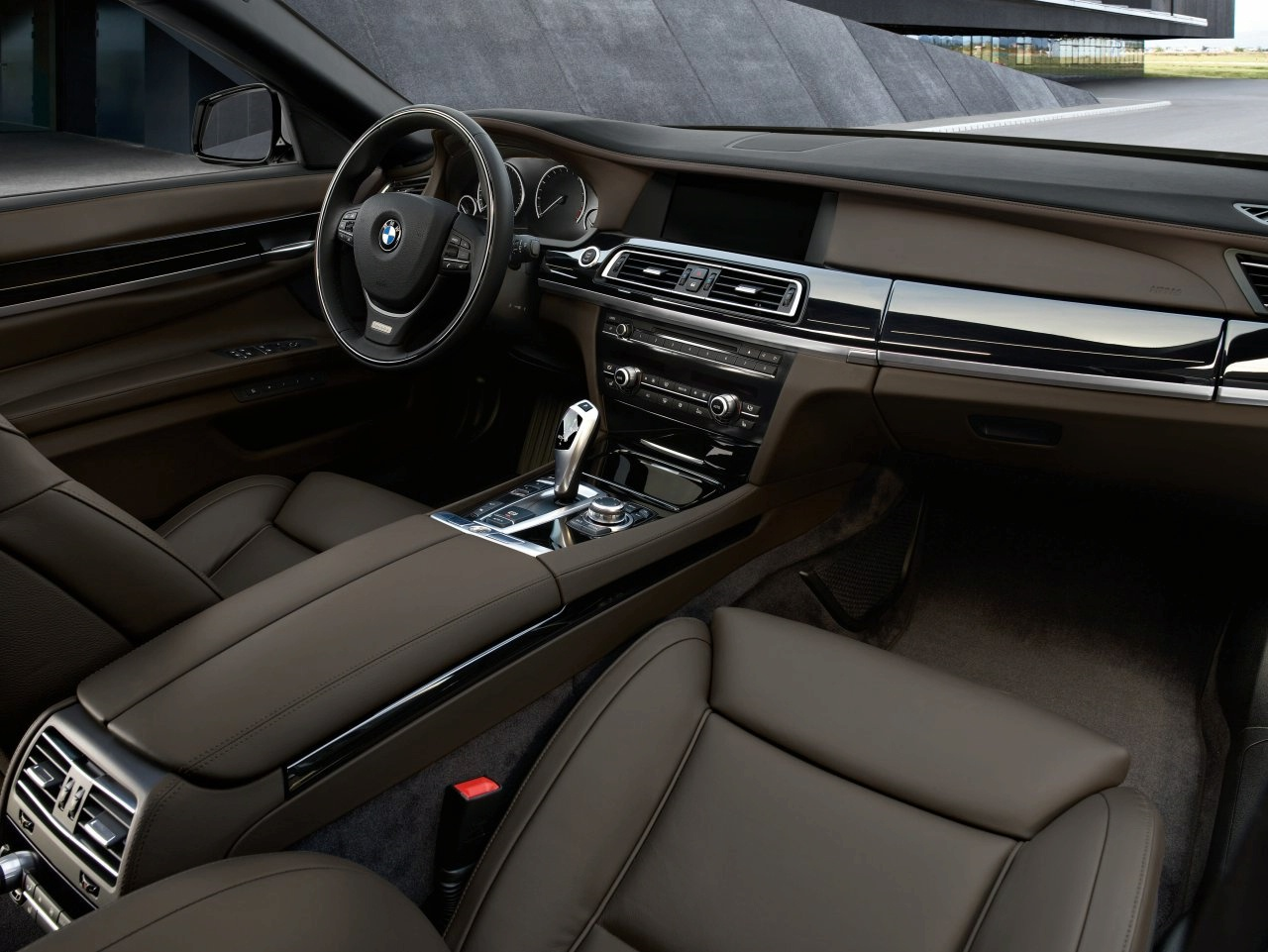 Bmw 7 Series 2012 Interior