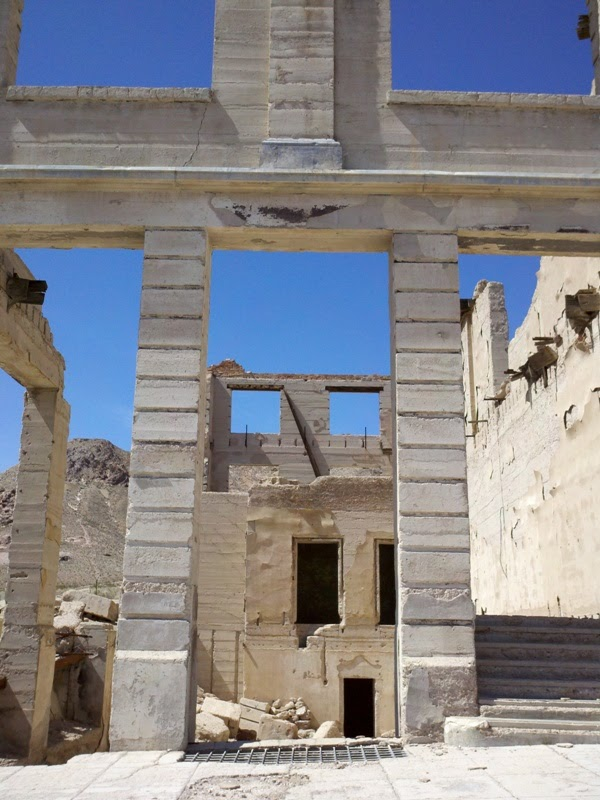 Hell's Gate Hundred • Rhyolite Ghost Town
