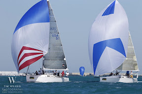 J109s sailing Key West
