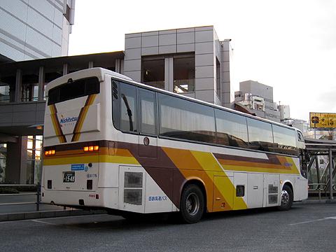 西鉄高速バス「さぬきエクスプレス福岡号」 3175 リア 高松駅にて