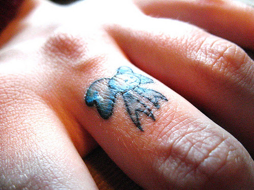 tattoo for finger