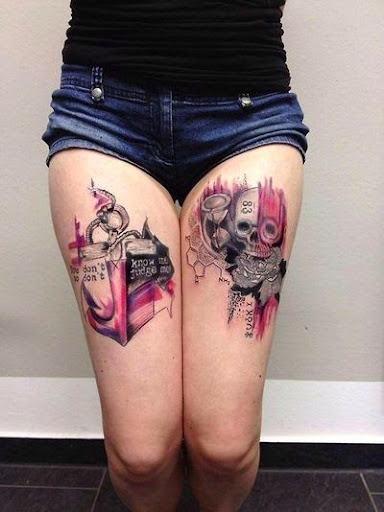 Watercolor Tattoos